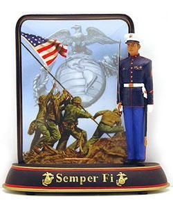 Bradford Exchange Semper Fi Collectible Plate