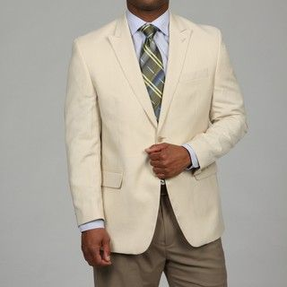 MICHAEL Michael Kors Mens Cream 2 button Sport Coat