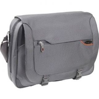 Samsonite Pro DLX 2 Business Laptop Messenger Bag Steel