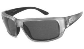 Costa Del Mar Fantail Sunglasses   Silver Frame   Gray Lens Shoes