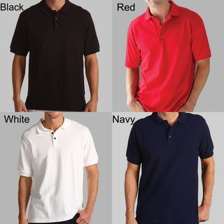 Mens Cotton Short Sleeve Polo Shirt