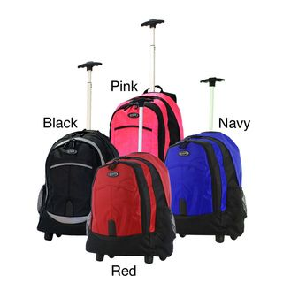 Olympia Sports Plus 19 inch Rolling Backpack