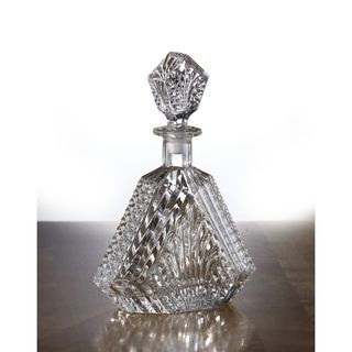Wellington 20 oz Glass Crystal Whiskey Decanter