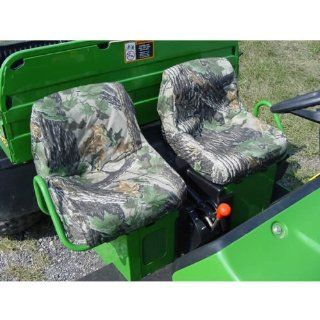 Greene Mountain JDGHBS 155 Waterproof High Back Seat Covers MOSSY OAK