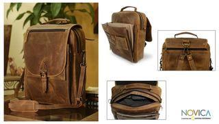 Leather Free Spirit Messenger Bag (Mexico)