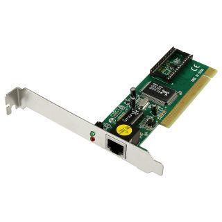 Ethernet PCI 10/ 100 LAN Adapter Network Interface Card