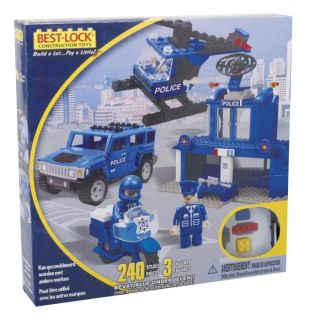 COFFRET POLICE 240 PIECES BEST LOCK   Best lock   coffret police 240