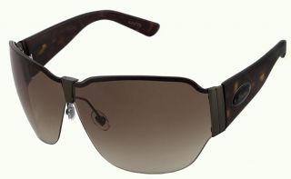 Gucci Oval Brown Lens Sunglasses