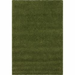 Alexa My Soft and Plush Green Shag Rug (53 x 8)