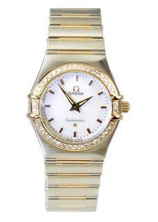 Omega Constellation Womens Diamond Watch