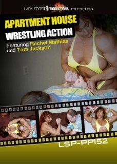 Women Wrestling DVD   Apartment House Wrestling Action
