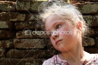 Sad little girl  Stock Photo © Tatiana Kostareva #9747375