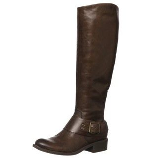 Jessica Simpson Womens Beatricy Dark Brown Riding Boots