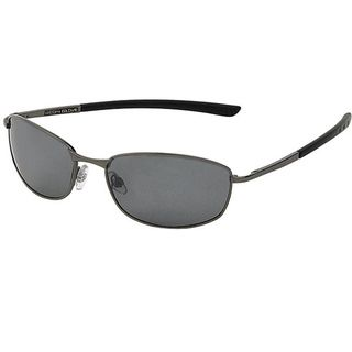 Body Glove Old Orchard Mens Dark Gunmetal Mirrored Polarized