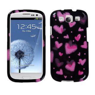 Premium Samsung Galaxy S III/S3 Dream Pink Hearts Protector Case