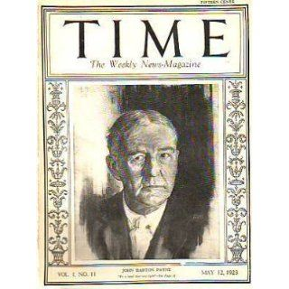 1923 Time May12 Ford has 159 million Cash;Gompers;Lynch
