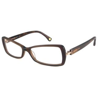 Michael Kors Readers Womens MK218 Brown Rectangular Reading Glasses