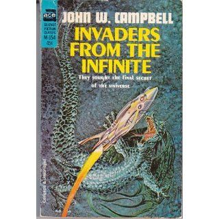 Invaders From The Infinite (Ace M 154) John W. Campbell, Gary Morrow