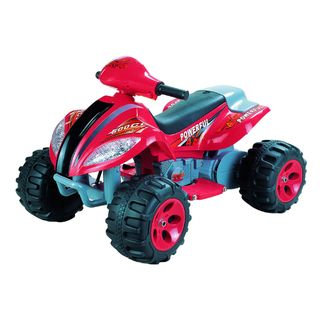 Max Quad Red 6 Volt Battery Operated Ride on