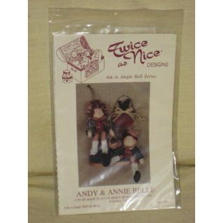 Annie Belle   Rag Doll Pattern   4th in Jingle Bell Series   No. 161