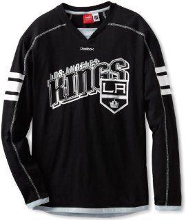 NHL Los Angeles Kings Long Sleeve Jersey T Shirt, Medium