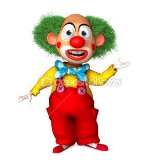 cartoon clown  Stock Photo © Albert Ziganshin #13295599
