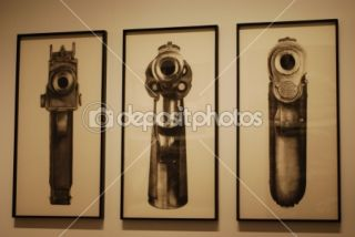 Robert Longo exhibition at CCB, Portugal  Foto Stock © Luis Santos