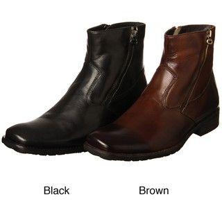 Robert Wayne Mens Quinn Leather Boots