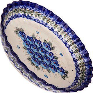 Polish Pottery Ceramika Boleslawiec, 1212/162, Pie Baker