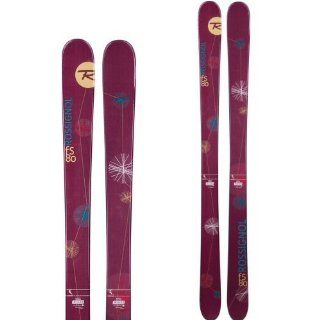 VOODOO FS 80 TWIN TIP ALPINE SKIS   WOMENS   158