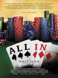 All In   The Poker Movie: Matt Damon, Phil Hellmuth Jr