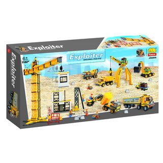 Fun Blocks Construction Site 1425 piece Brick Set