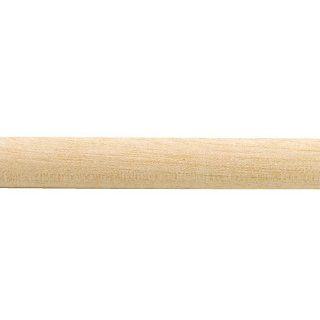 Birch 3/8 Quarter Round Molding, 48L