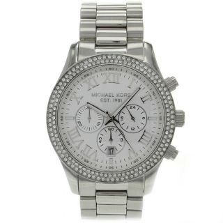 Michael Kors Womens Camille Stainless Steel Watch Today $333.99