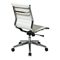 Office Star Mid Back Eco Leather Chair