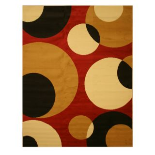Pat Abstract Red Rug (710 x 106)