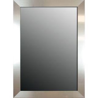 Brightly Polished Silver 42x30 inch Mirror