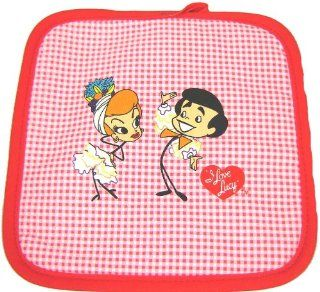 I Love Lucy Kitchen Pot Holder: Home & Kitchen
