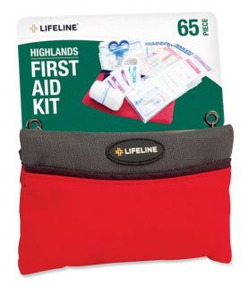 Lifeline First Aid Highland 65 piece First Aid Kits (Pack of 12) Today