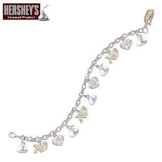 Hersheys Kisses Chocolate Lover Charm Bracelet Jewelry