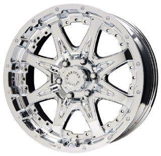 American Outlaw Buckshot Series Chrome Wheel (16x8/8x165.1mm