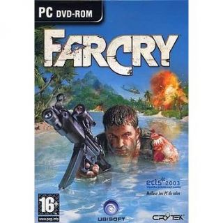 FAR CRY / PC DVD Rom   Achat / Vente PC FAR CRY   PC DVD Rom