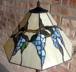 Tiffany style 2 light Grape Vine Floor Lamp