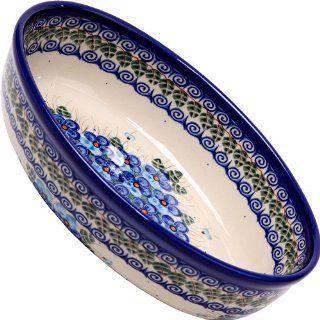 Polish Pottery Ceramika Boleslawiec, 1210/162, Oval Mirek