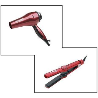 Fusion Tools HTX101 Flat Iron and HTX007 Salon Dryer