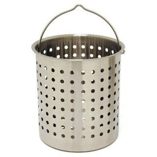 Bayou Classic 162 Quart Stainless Steel Perforated Basket
