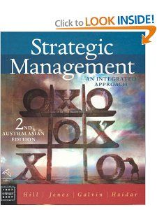 Strategic Management An Integrated Approach Charles W.L. Hill, et al