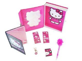 Sanrio Hello Kitty Secret 6pc Diary Box Set   Pink Toys