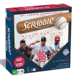 St. Louis Cardinals Scrabble Board Game
