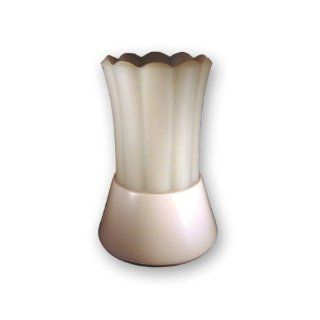 Small Candle Breeze Fluted Electric Candle Warmers White Scent